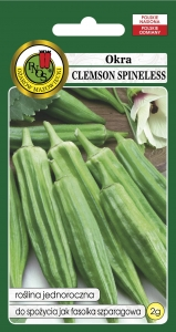 OKRA CLEMSON SPINELESS 2g